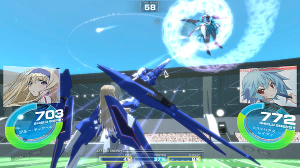 is infinite stratos versus colors pc
